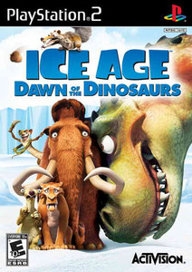 Ice Age Dawn of the Dinosaurs - PS2 Game