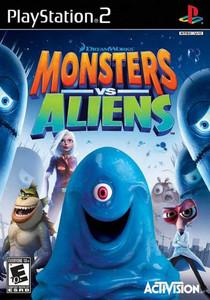 Monsters vs Aliens - PS2 game