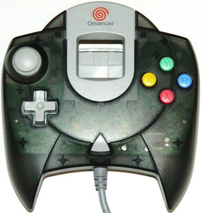 Dreamcast Original Sega Controller Transparent Charcoal