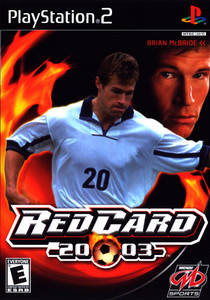 Red Card Soccer 2003 - PS2 Game