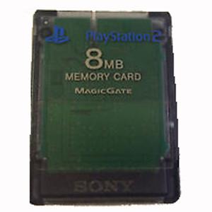 Original Memory Card 8mb Clear - Playstation 2
