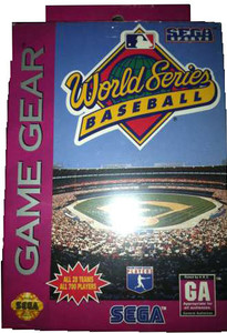 World Series Baseball - Game Gear Game