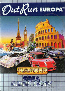 Outrun Europa - Game Gear Game