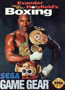 Evander Holyfield's Real Deal Boxing - Game Gear Game