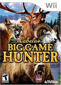 Cabela's Big Game Hunter - Wii Game