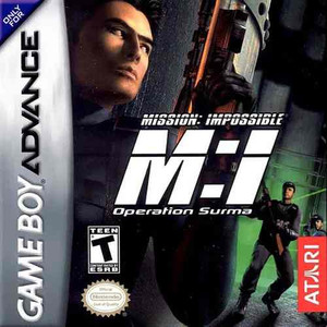 Mission Impossible Operation Surma - Game Boy Advance Game