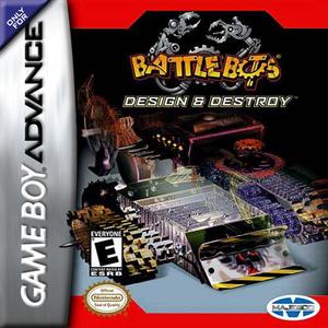 Battlebots Design and Destroy - Game Boy Advance Game