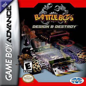 Battlebots Design and Destroy - Game Boy Advance Game