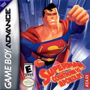Superman Countdown to Apokolips - Game Boy Advance Game
