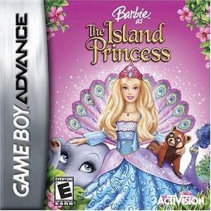 Barbie the Island Princess - Game Boy Advance Game