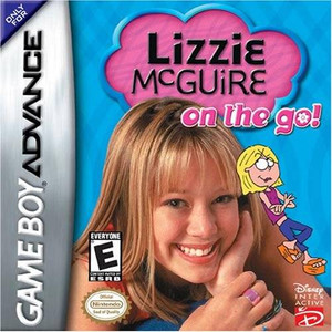 Lizzie McGuire On the Go! - Game Boy Advance Game