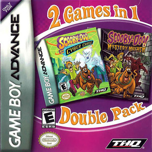 Scooby Doo Mystery Mayhem/Scooby Doo! and the Cyber Chase - Game Boy Advance Game