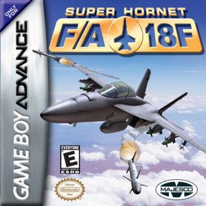 Super Hornet FA-18F - Game Boy Advance Game