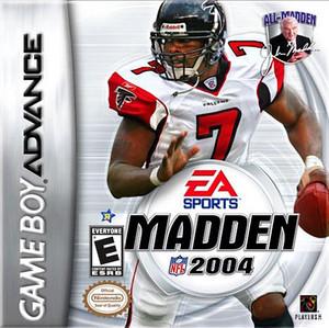 Madden 2004 - Game Boy Advance Game