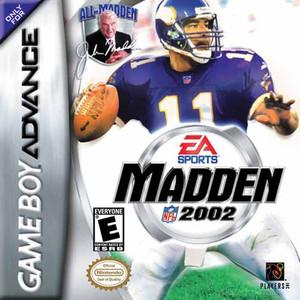 Madden 2002 - Game Boy Advance Game