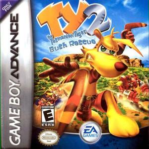 Ty the Tasmanian Tiger 2 Bush Rescue - Game Boy Advance Game