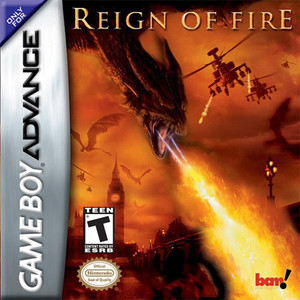 Reign of Fire - Game Boy Advance Game