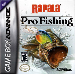 Rapala Pro Fishing - Game Boy Advance Game