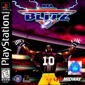 NFL Blitz - PS1 Game