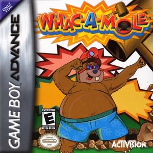 Whac-A-Mole - Game Boy Advance Game