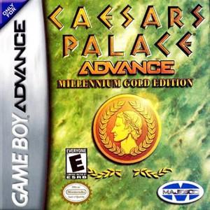 Caesars Palace Advance Millennium Gold Edition - Game Boy Advance Game