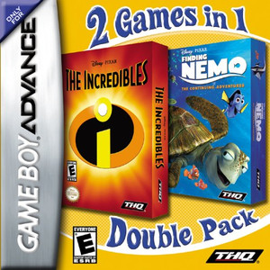 The Incredibles and Finding Nemo - Game Boy Advance Game
