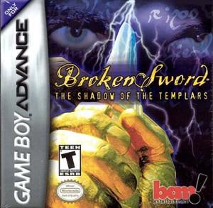 Broken Sword The Shadow of the Templars - Game Boy Advance Game