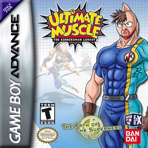 Ultimate Muscles Path Of The Superhero - Game Boy Advance Game