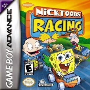 Nicktoons Racing - Game Boy Advance Game