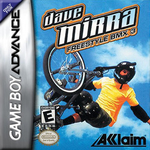 Dave Mirra Freestyle BMX 3 - Game Boy Advance Game