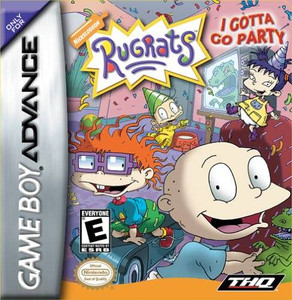 Rugrats I Gotta Go Party - Game Boy Advance Game