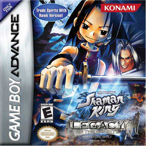 Shaman King Sprinting Wolf - Game Boy Advance Game