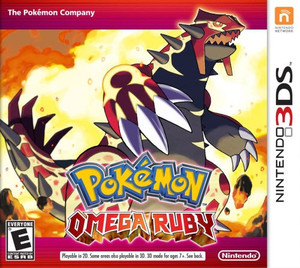 Pokemon Omega Ruby - 3DS Game