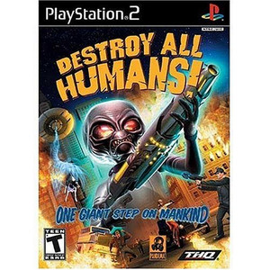 Destroy All Humans - PS2 Game
