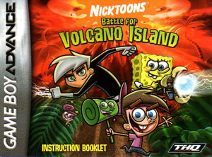 Nicktoons Battle for Volcano Island - Game Boy Advance Game