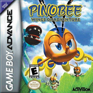 Pinobee Wings of Adventure - Game Boy Advance Game