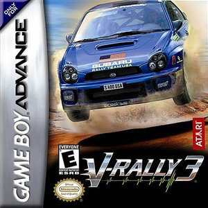 V-Rally 3 - Game Boy Advance Game