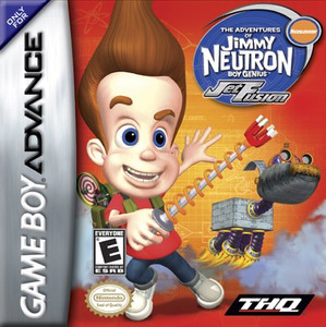 Jimmy Neutron Jet Fusion - Game Boy Advance Game