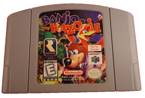 Not For Resale Banjo Kazooie - N64 Game