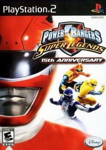 Power Rangers Super Legends - PS2 Game