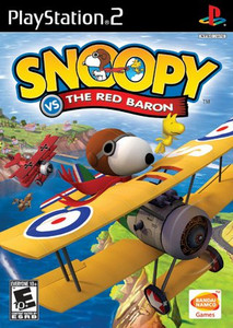 Snoopy vs. the Red Baron - PS2 Game