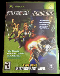 Outlaw Golf and SeaBlade - Xbox Game