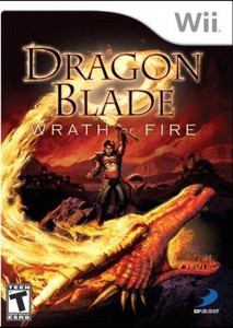 Dragon Blade Wrath of Fire - Wii Game