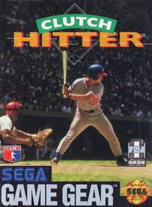Clutch Hitter - Game Gear Game