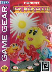 Ms. Pac-Man - Game Gear Game