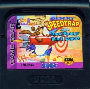 Desert Speedtrap - Game Gear Game