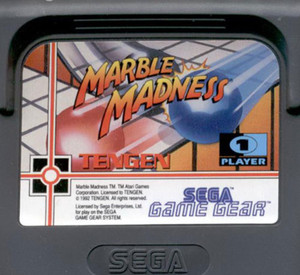 Marble Madness - Game Gear Game