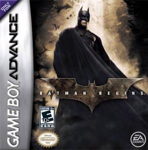 Batman Begins - Game Boy Advance Game