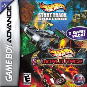 Hot Wheels Stunt Track Challenge / Hot Wheels World Race - Game Boy Advance Game