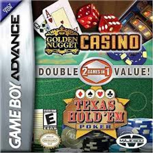 Texas Hold 'em Poker / Golden Nugget Casino - Game Boy Advance